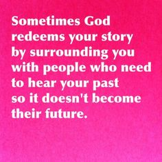 Maybe your past has a purpose #projectinspired #faith