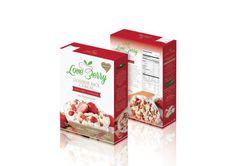 LoveBerry Jasmine Rice Cereal with Crispy Strawberry Original Flavor 120 g
