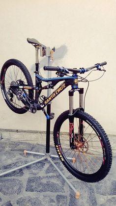 Davide Sottocornola's new Santa Cruz Bronson Mt Bike, Mtb Bicycle, Santa Cruz Mtb, Dh Velo, Bmx Dirt, Mountian Bike, Downhill Bike, Pedal Pushers, Trail Riding