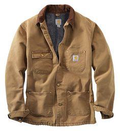 Carhartt Chore Coat, Carhartt Jacket, Carhartt Jeans, Carhartt Wip, Types Of Jackets, Work Jackets, Workwear Fashion, Mens Fashion, Brown Fashion