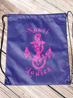 Nauti Ladiez Drawstring Cinch Bag