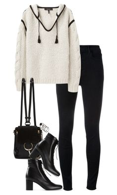 """""""Bez naslova #1206"""" by nely01 ❤ liked on Polyvore featuring J Brand, Isabel Marant, Chloé and Yves Saint Laurent"""