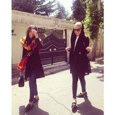 at Zafaraniyeh Women's Summer Fashion, Fashion 2020, Street Style Women, Street Styles, Iranian Women Fashion, Womens Fashion, Women In Iran, Popular Instagram Accounts, Persian Girls