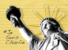 Because a picture is worth a thousand words. #JeSuisCharlie