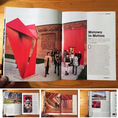 My images illustrate Claudia Steinberg's story about Detroit's art scene with the focus on Gary Wasserman's new gallery there. Artcollector Magazin 01/16, Germany