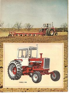 1206 a beast of a tractor. The 06 series was the first of many great tractors Big Tractors, Farmall Tractors, Red Tractor, Antique Tractors, Vintage Tractors, Vintage Farm, International Harvester Truck, International Tractors, John Deere Equipment