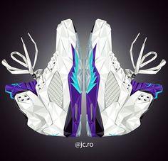 Air Jordan V Art