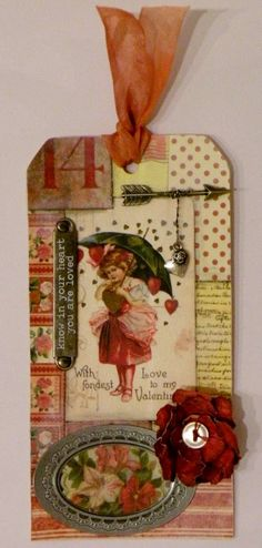 My Own Little Korner: Tim Holtz 12 Tags of 2015-February