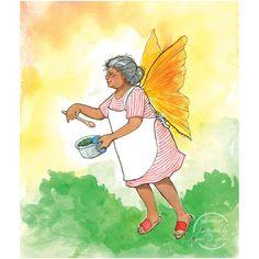 Grandma Fairy card by Karen Bagnard