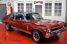 Visit us on Classic Car Court for an incredible collection of Muscle Cars, Classic Cars, survivors and restorations. Chevy Muscle Cars, Best Muscle Cars, American Muscle Cars, Chevy Classic, Classic Cars, General Motors Cars, Chevy Nova, Pony Car, Big Trucks