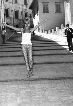 Brigitte Bardot - This attitude is my goal every day.