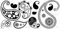 Creative Paisley Design Illustration — Imagen vectorial #6127320