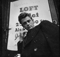 James Dean...forever cool, forever young, and forever gone.
