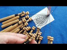 Lacemaking, Fiber Art, Videos, Triangle, Diy, Youtube, Lace, Fabrics, Crocheting
