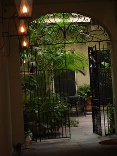 French Quarter Courtyard New Orleans