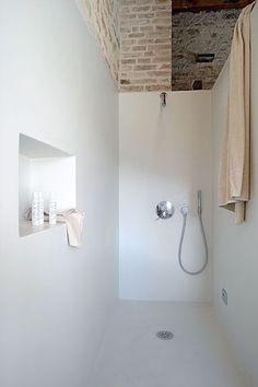 .douche italienne.... suite parentale sous les combles