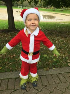 Cool homemade grinch who stole christmas costume pinterest toddler grinch costume solutioingenieria Image collections