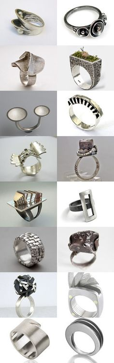 MUST BE SEEN RINGS by Florence on Etsy--Pinned with TreasuryPin.com