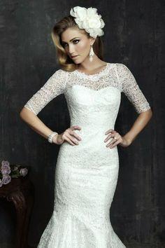 Impresionante selección de vestidos de novias   Colección Allure Bridals 2014