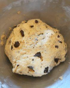 Cookies moelleux banane chocolat {vegan} - Perle en sucre Cookies Banane, Cookies Et Biscuits, Pudding, Banana, Banane Plantain, Cake, Bread, Fruit, Breakfast