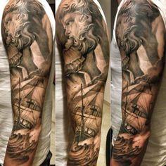 poseidon tattoo - Pesquisa Google                                                                                                                                                      More