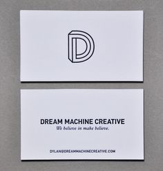 Dream Machine Business Card by Mike Valentine