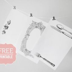 Vintage Paper Placemat #Printable {Table Decoration} #free