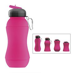 Shenzhen Jewelives---top ten silicone manufacturer silicone water bottle is virtually unbreakable, and collapses into itself for storage and travel! Unique flexible design is dishwasher safe, freezable up to -40øF and BPA-free. A fun way to keep kids (and adults) hydrated at hockey, gymnastics, karate and more! foldable .Http://www.globalsources.com/jewelives.co may@jewelives.com