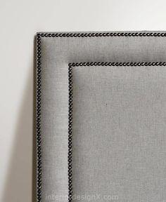 Studded Headboard Statement Studded Headboards in Modern Bedrooms Studded…