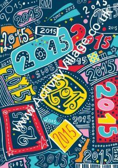 New Year Scrapbook Paper
