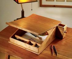 Mobile writing desk