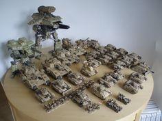 kitbash tanks - Google Search