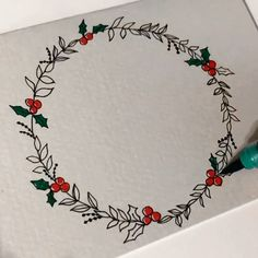 Not all wreaths are created equal. Take an old bike wheel and deck it out in boho-style for a wreath that wins all wreaths. Diy Stationery Gift Set, Stationery Store, Holiday Wreaths, Advent Wreaths, Winter Wreaths, Spring Wreaths, Halloween Wreaths, Watercolor Brush Pen, Brush Pen Art