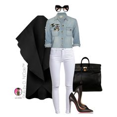 """""""A D. Ni'Cole inspired look.  Click the link in the bio for fit details."""""""