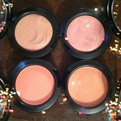 MAC blushes Melba, Peaches, Bareness, At Dusk #MAC #blush #makeup www.cheaparmacmakeup.com