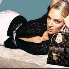 Uma Thurman and Louis Vuitton