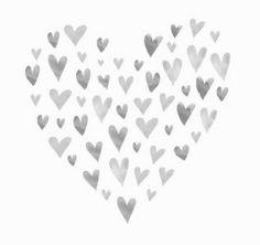 + #watercolor #hearts_in_heart