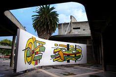 Mural de Fernand Léger 1954. UCV. Caracas. Venezuela. #Arte #UCV @Amy Felix Tapia @???????????????????? Ucv