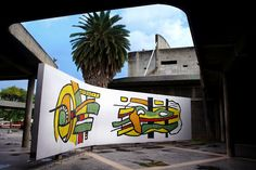 Mural de Fernand Léger 1954. UCV. Caracas. Venezuela. #Arte #UCV @Felix Tapia @Saber Ucv