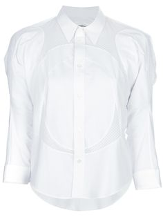 Junya Watanabe Mesh Panel Shirt