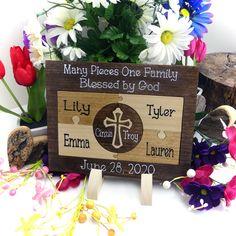 Family Custom Designed Unity Puzzle Wedding Unity Ceremony Alternative Forever Family Adoption Gift Unity Ideas Blended Family Wedding