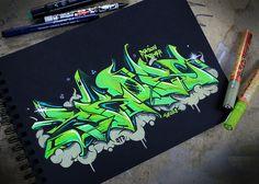 - g r a f f i t t i - Grafitti Graffiti Piece, Graffiti Tattoo, Best Graffiti, Graffiti Designs, Graffiti Alphabet, Graffiti Styles, Graffiti Lettering, Graffiti Writing, Graffiti Tagging