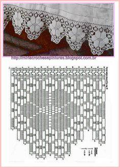 Angela Martin's media content and analytics Crochet Snowflake Pattern, Crochet Shoes Pattern, Crochet Lace Edging, Crochet Borders, Crochet Diagram, Love Crochet, Crochet Doilies, Wiggly Crochet, Handarbeit