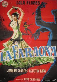 CARTEL LA FARAONA - Foto 1