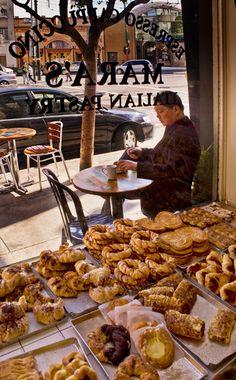 Italian Pastries on Columbus Avenue, North Beach