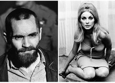 Charles Manson, left, up for parole from prison for his role in the 1969 murders of actress Sharon Tate Patricia Krenwinkel, Pregnant Actress, Charles Manson, Roman Polanski, Sharon Tate, American History, Actresses, In This Moment, Actors