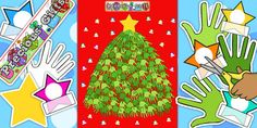 Ready Made Christmas Tree Display Pack - ready made, display