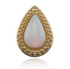 sw | bohemian bardot ring pearl