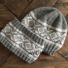 Marius lue og pannebånd Wooly Hats, Knitted Hats, Norwegian Knitting, Baby Boy Knitting Patterns, Hobbies To Try, Fair Isle Knitting, Knitting Projects, Knit Crochet, Sewing