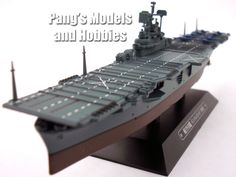 Carrier USS Intrepid 1/1100 Scale Diecast Metal Model Ship by Eaglemoss